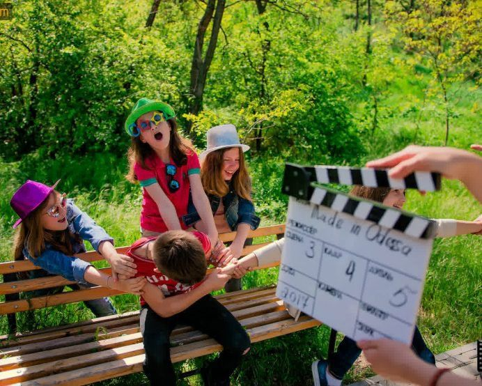 Детская киношкола, участие в съемках и работа на камеру - MadeInOdessa