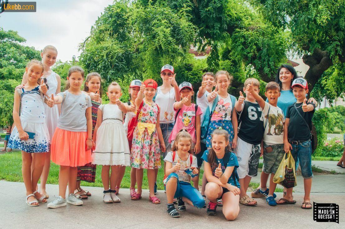 """Летний лагерь для детей в Одессе - """"Кино and Театр"""""""